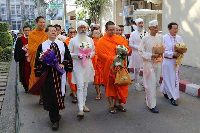 Five religions in Thailand send powerful message