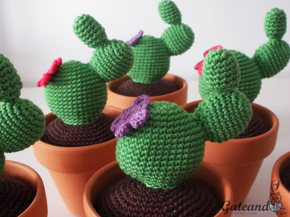 Amigurumi Cactus Paso A Paso : Patr�n cactus amigurumi