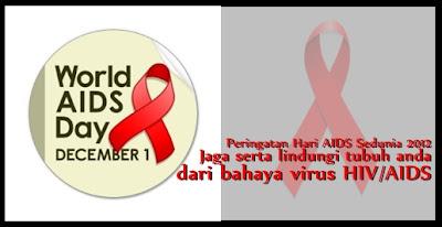 Peringatan hari aids sedunia 2012