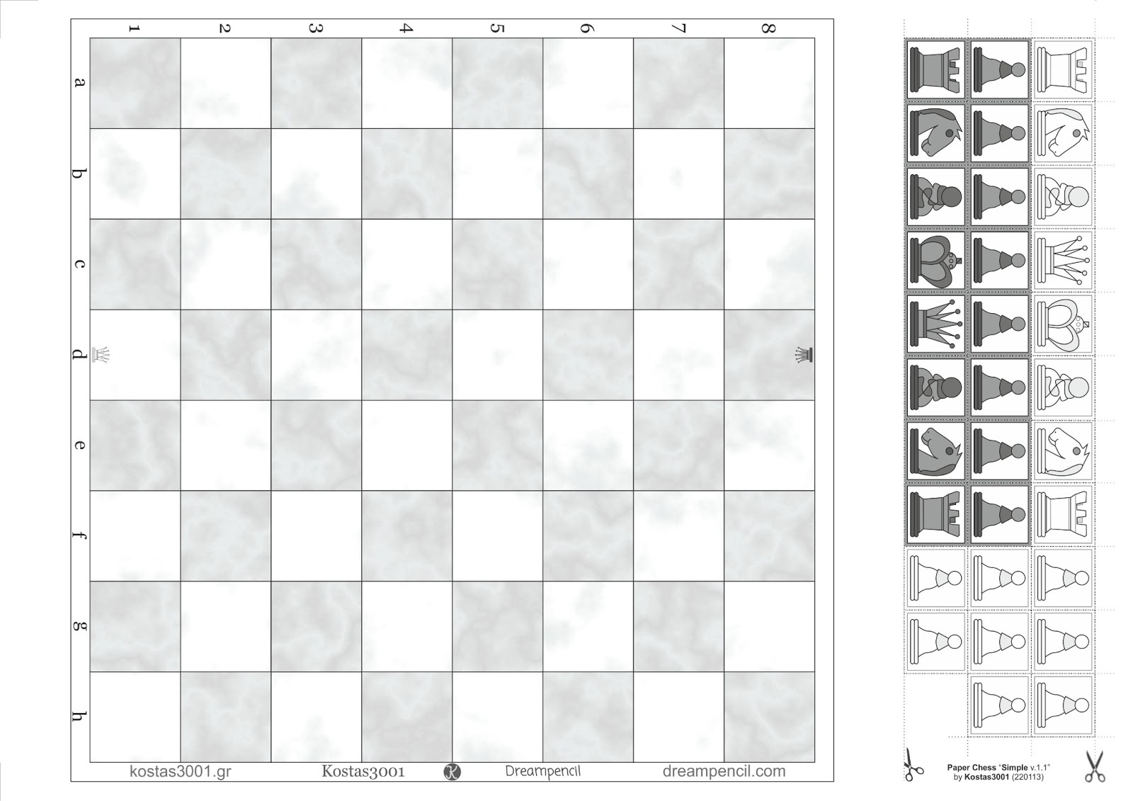 Gutsy image throughout chess board printable