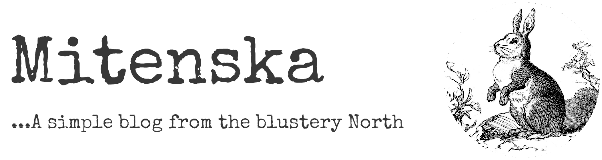 mitenska... a simple blog from the blustery North