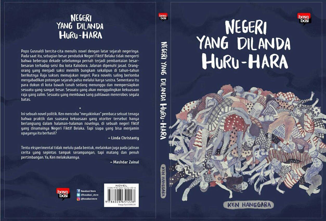 """New Release! Novel """"Negeri yang Dilanda Huru-Hara"""""""