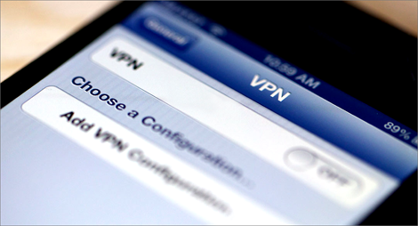 setup vpn network on iphone