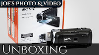 Sony HDR-PJ440 Handycam HD Video Camera | Unboxing