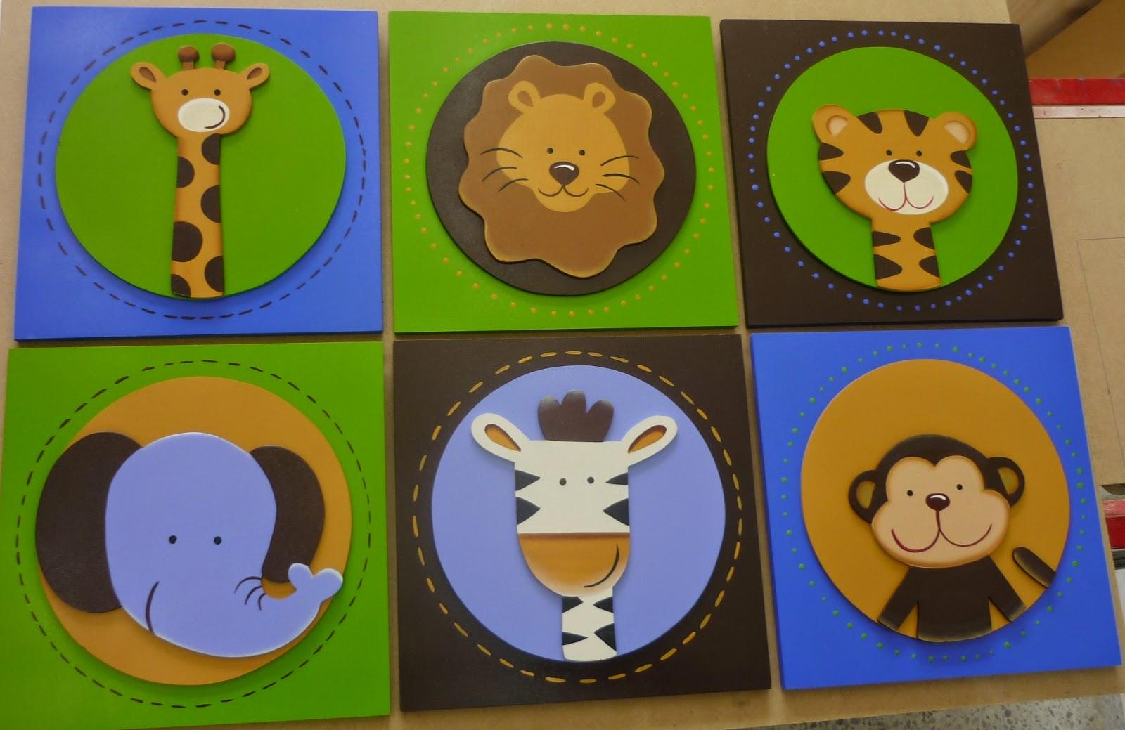 Cuadros para ni os maca color y cosas - Cuadros abstractos para ninos ...