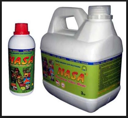 POC NASA merupakan bahan organik murni berbentuk cair dari limbah ternak limbah dan unggas, limbah alam dan tanaman, beberapa jenis tanaman tertentu serta bumbu -bumbu / zat-zat tertentu yang diproses secara alamiah dengan konsep ZERO EMISION CONCEPT.