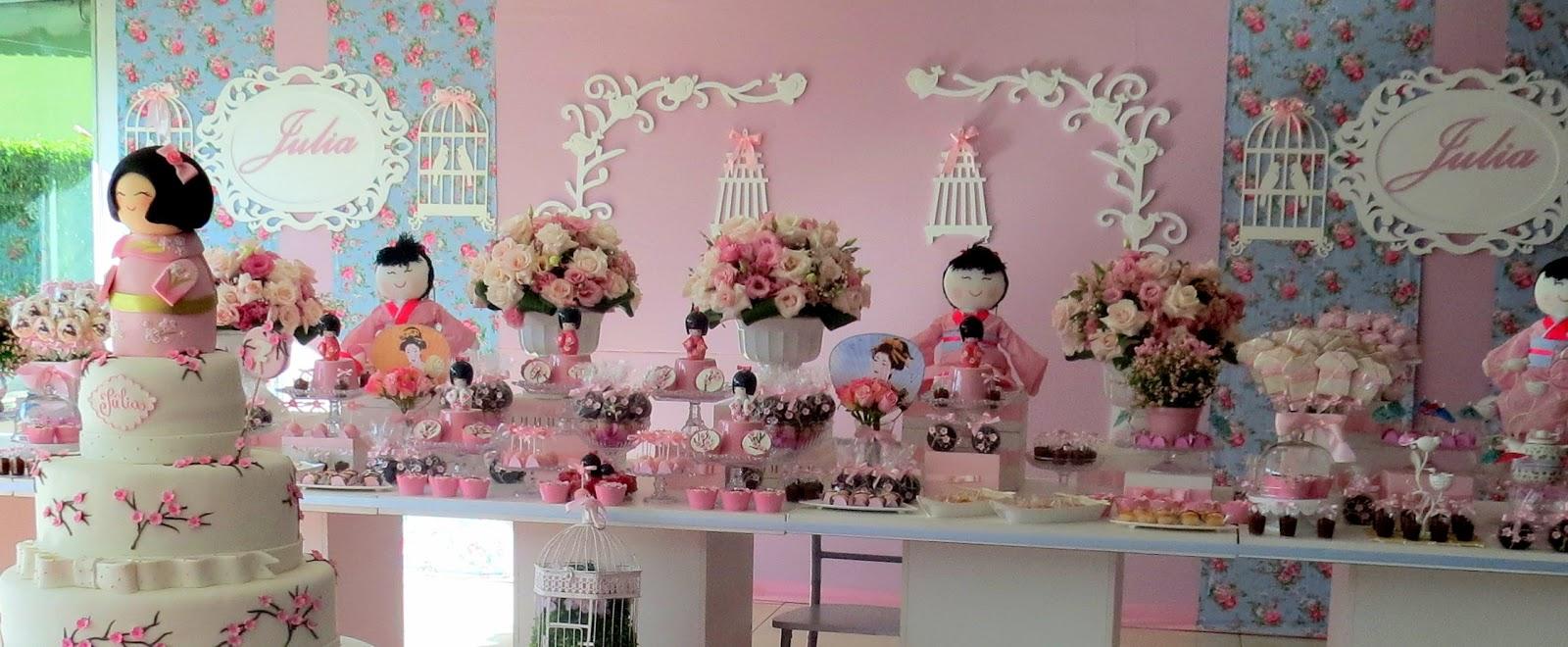decoracao festa kokeshi:Festa Provençal – Site Oficial: Bonequinha Kokeshi para a linda Juju