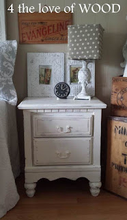 4 the love of wood where to find furniture legs distressed white nightstands. Black Bedroom Furniture Sets. Home Design Ideas