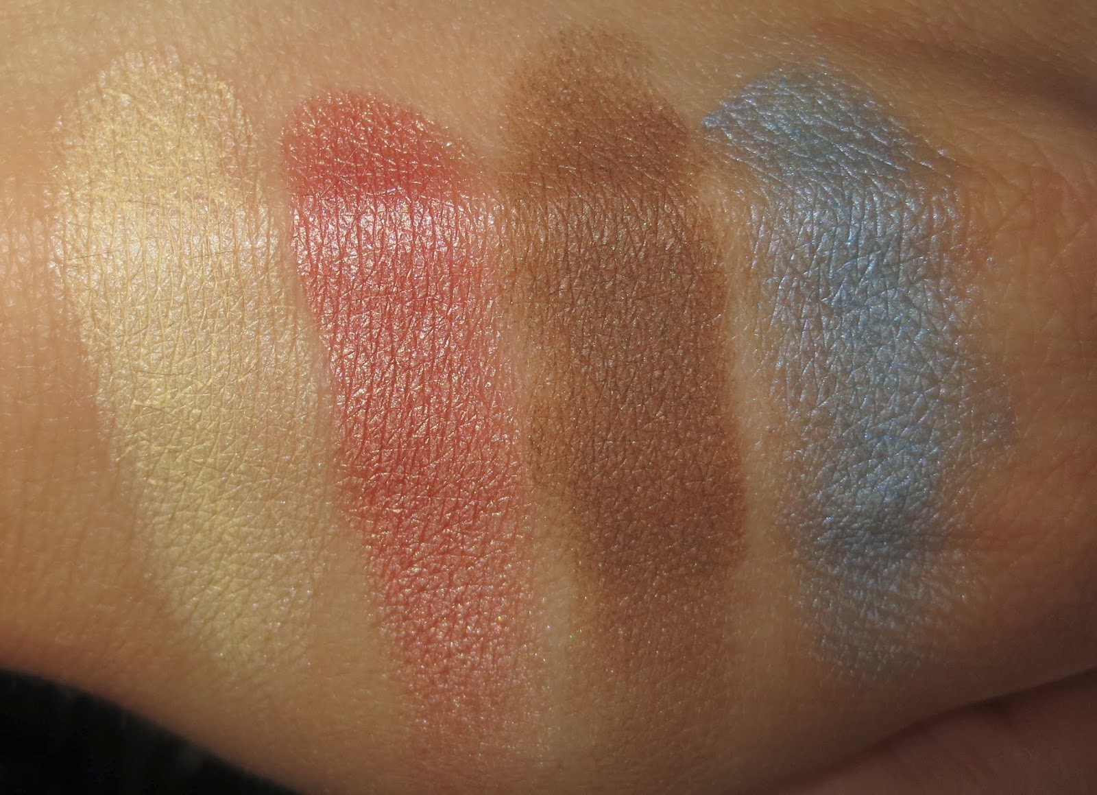 Mary Kay Springy Eye Duos in Stonewashed & Summer Sunset Swatches