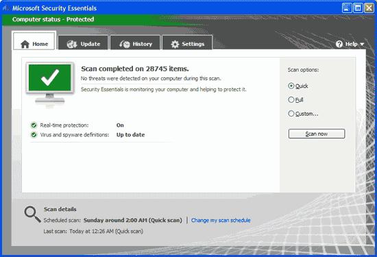 MSE antivirus