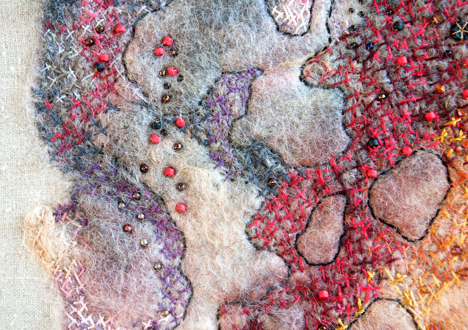 Gunnel svensson fritt broderi contemporary embroidery