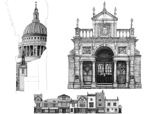 Architecture Buildings Sketch beautiful architecture buildings drawings n and decor