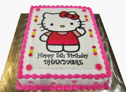 Kek Harijadi Hello Kitty Ai-sha Puchong Jaya