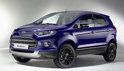 Harga Ford Ecosport sangatlah terjangkau dari  Rp 261.000.000 denga kecanggihan dan bonus lebih