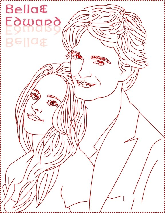 decoracao festa xuxinha:Twilight Edward Coloring Pages