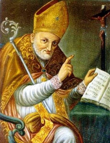 Der hl. Alphons als Bischof zu St. Agatha
