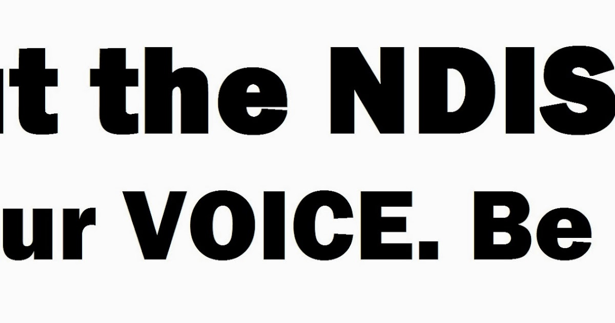 The NDIS is discriminant and MANY will miss out
