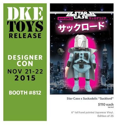 Designer Con 2015 Exclusive Suckadelic x Star Case Bootleg Star Wars Vinyl Figures - Sucklord