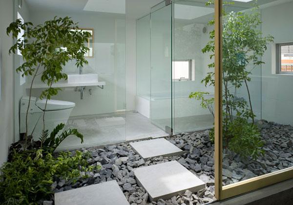 Arredare a primavera la natura entra in casa architettura e design a roma - Giardino zen in casa ...