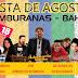 Umburanas: Festa de Agosto será nos dias 17 e 18/08