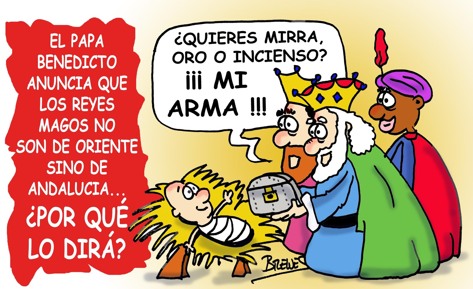 Chistes graficos REYES+MAGOS+ANDALUCES