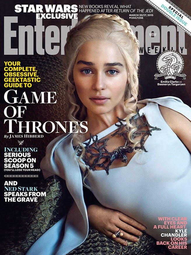 Actress @ Emilia Clarke - Entertainment Weekly, March 2015