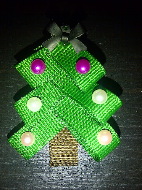 Christmas Tree Topper Bow