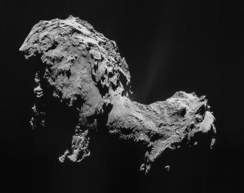 komet 67p Churyumov–Gerasimenko
