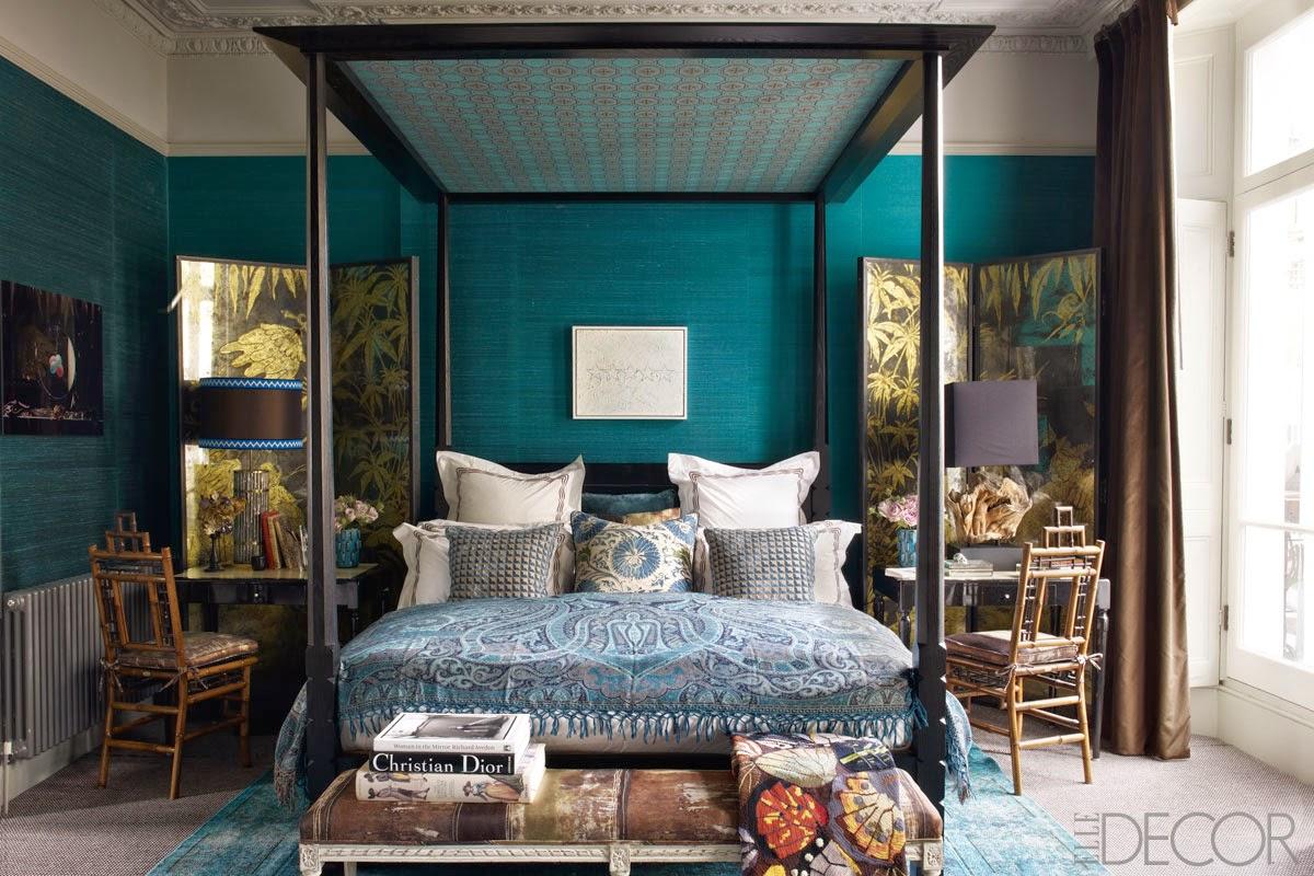Peacock Decor For Bedroom Marie Flanigan Interiors