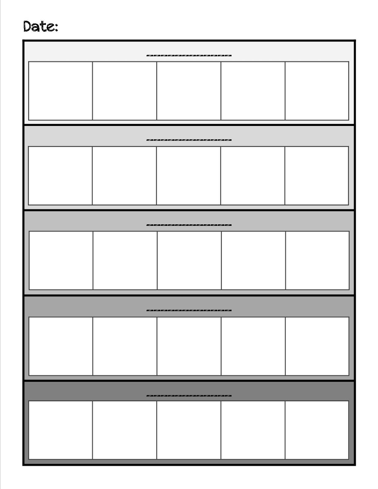 Displaying 18> Images For - Blank Daily Routine Chart...