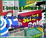 E-books e softwares para revenda