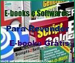 E-books e softwares para revenda