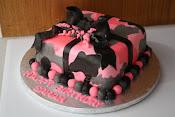 Camo Girl Cake