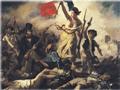 Pintura de Eugene Delacroix - La libertad guiando al pueblo