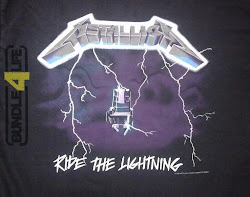 Metallica - Ride the Lightning shirt