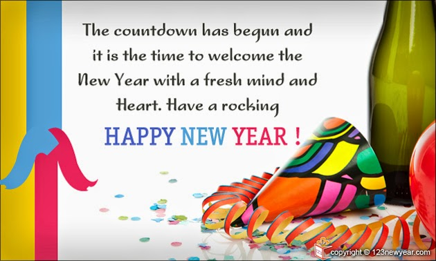 Corporate Happy New Year Wishes Quotes - Happy New Year 2015