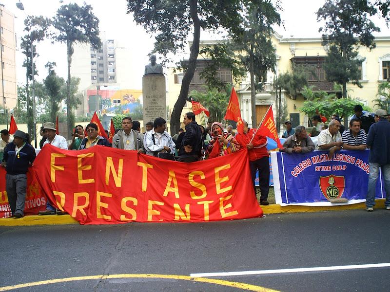 FENTASE - CALLAO: ¡ 2do. DÍA DE PARO NACIONAL FENTASE: 14 ...