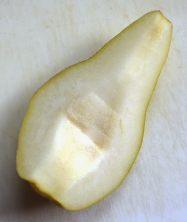 Bartlett pear slice