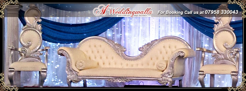 asian wedding stage decoration | A1 Weddingwalla