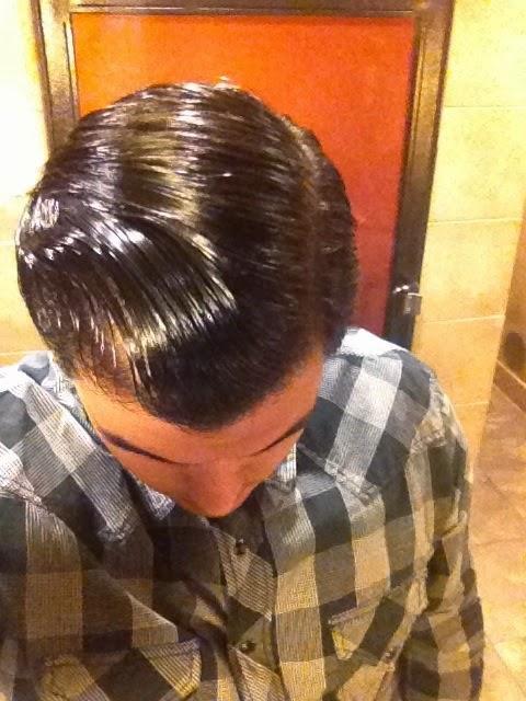 Hasil Pemakaian Minyak Rambut Pomade Hair Glo  Original 100% USA