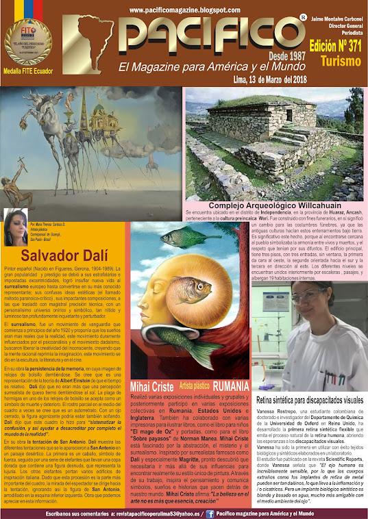 Revista Pacifico Nº 371 Turismo
