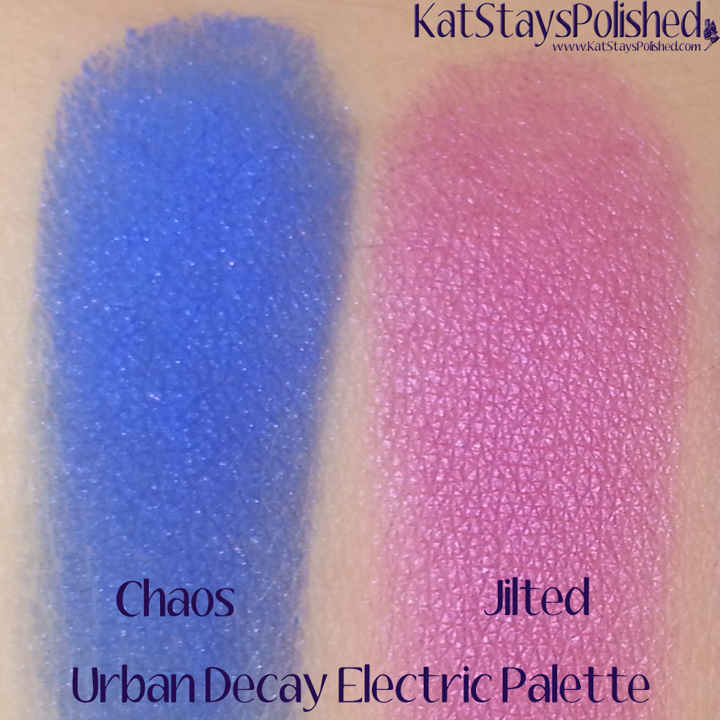 Urban Decay Electric Palette - Chaos and Jilted | Kat Stays Polished