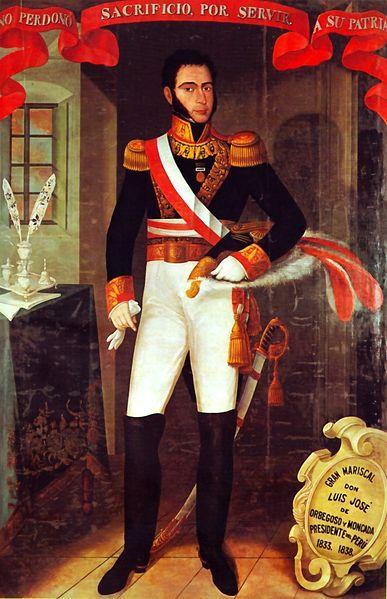 Imagen de Luis José de Orbegoso y Moncada