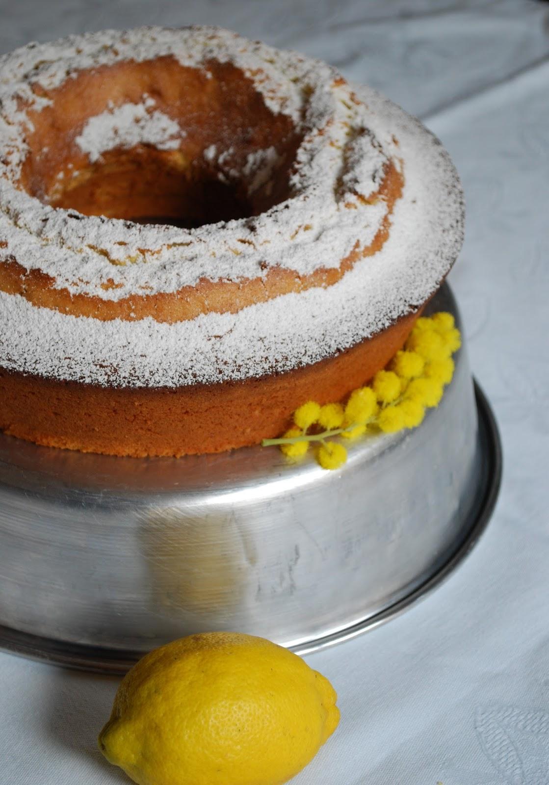 torta all'olio extravergine d'oliva, limone e rosmarino