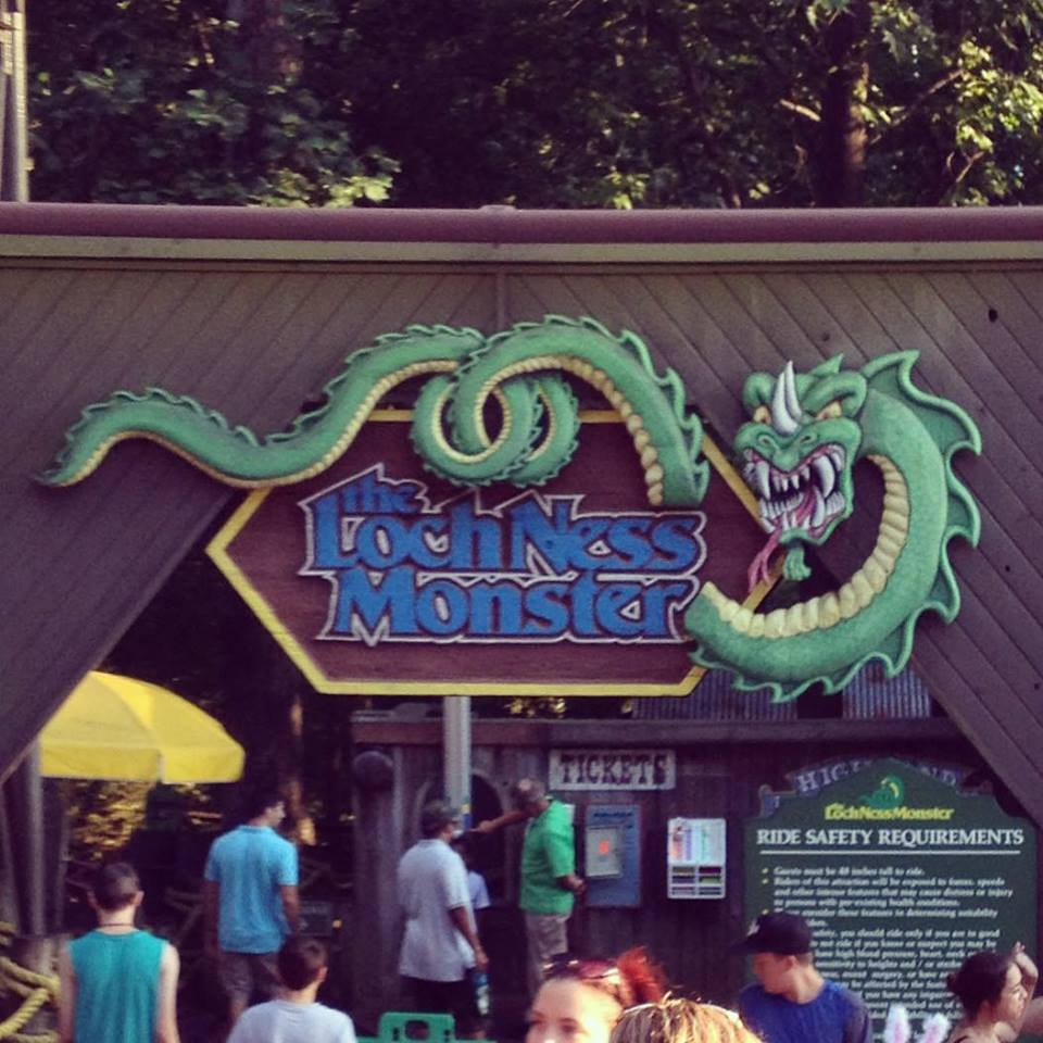 Away From The Things Of Man Busch Gardens On National