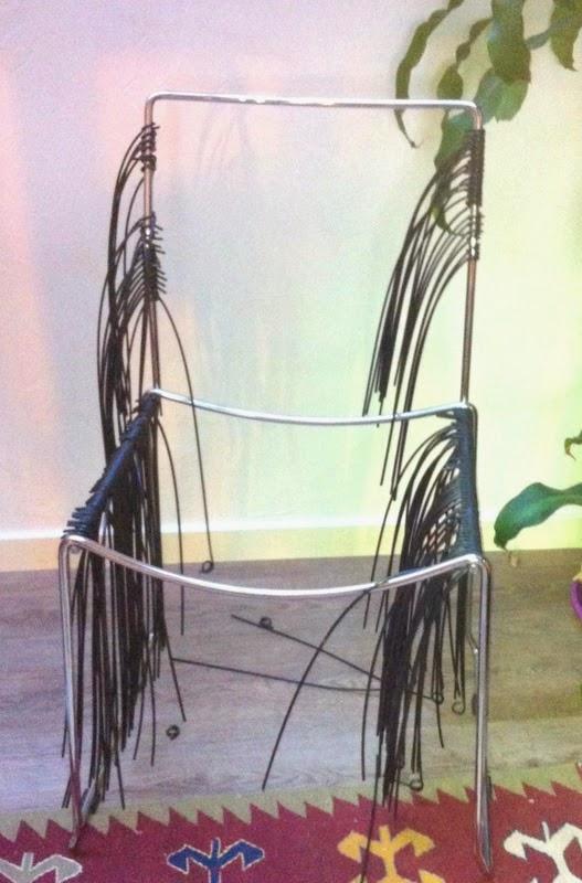 Mobilier scoubidou r novation de chaise scoubidou for Mesure d une chaise