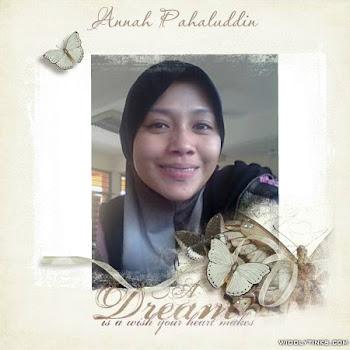 ANNAH BINTI PAHALUDDIN
