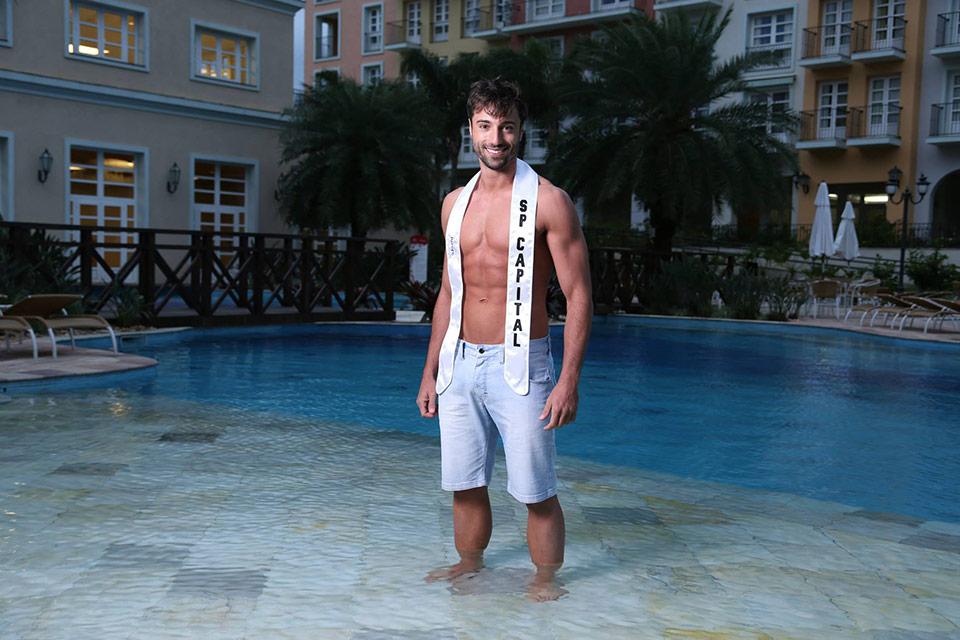 Mister São Paulo Capital - Giba Pignatti, 28 anos, 1,86 m - Foto: Leonardo Rodrigues