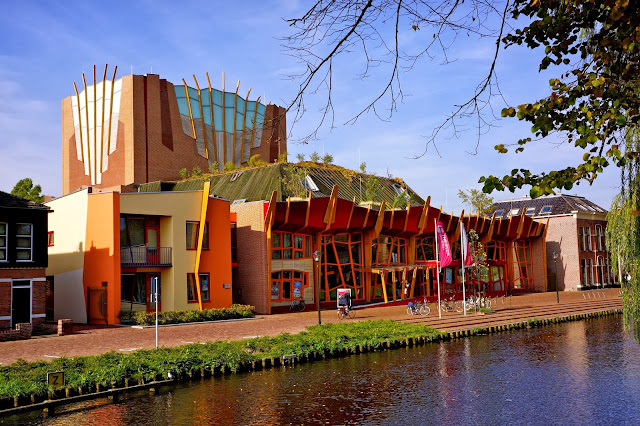 Image of the theater building in Sneek, the Netherlands.