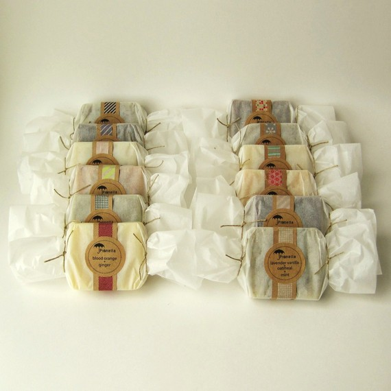 of this soap packaging by janelle anderson of prunella soaps ...
